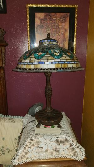 Tiffany style stained glass lamp for Sale in Phoenix, AZ