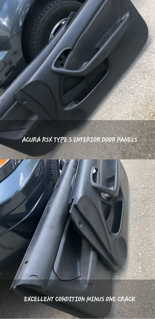 2002 Acura RSX Type S Interior Door Panels  One Is Cracked, So Please See  Photos  Only $50 For the Pair!!! for Sale in Kissimmee, FL - OfferUp
