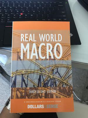 Real Word Macro Book for Sale in Boston, MA