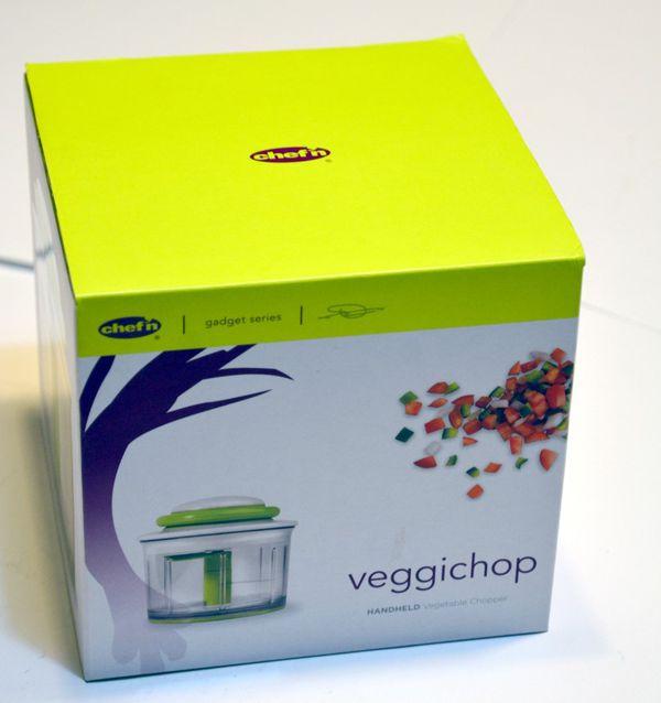 Chef\'n VeggiChop Hand-Powered Food Chopper New in the box. Green Up ...