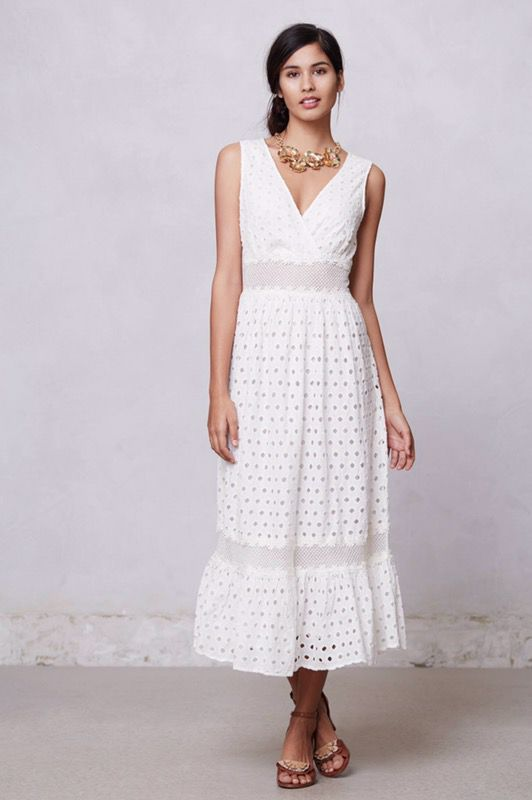 ac17c1448 Leifnotes white eyelet midi dress (XS) for Sale in Bellevue, WA ...
