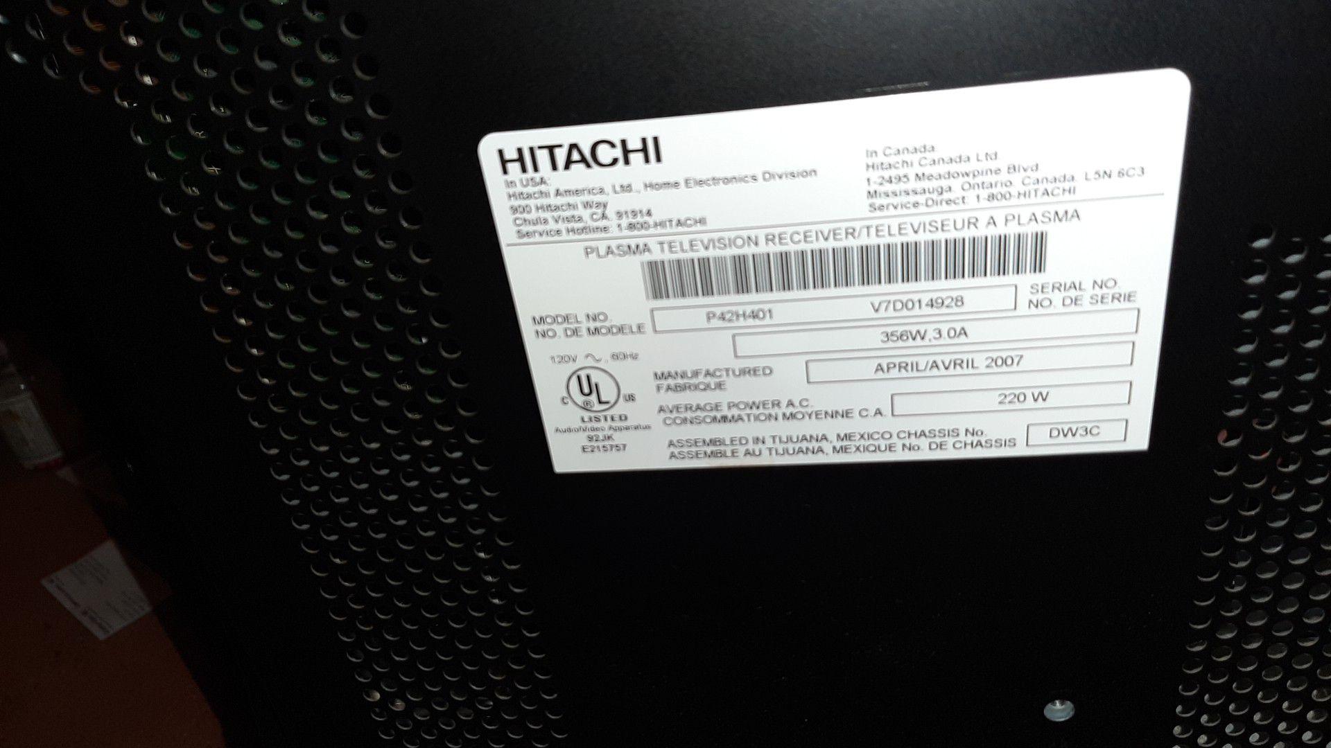 2012 model Hitachi 55in 375obo