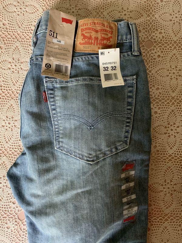 e01ce6e7 Brand New Levi's 511 Slim Fit Jeans for Sale in San Francisco, CA ...