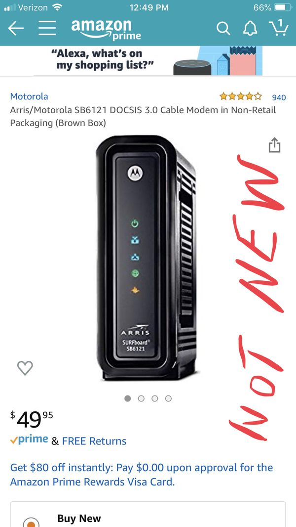New and Used Modem arris for Sale in Cutler Bay, FL - OfferUp