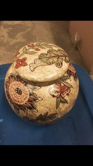 Porcelain jar for Sale in Denver, CO