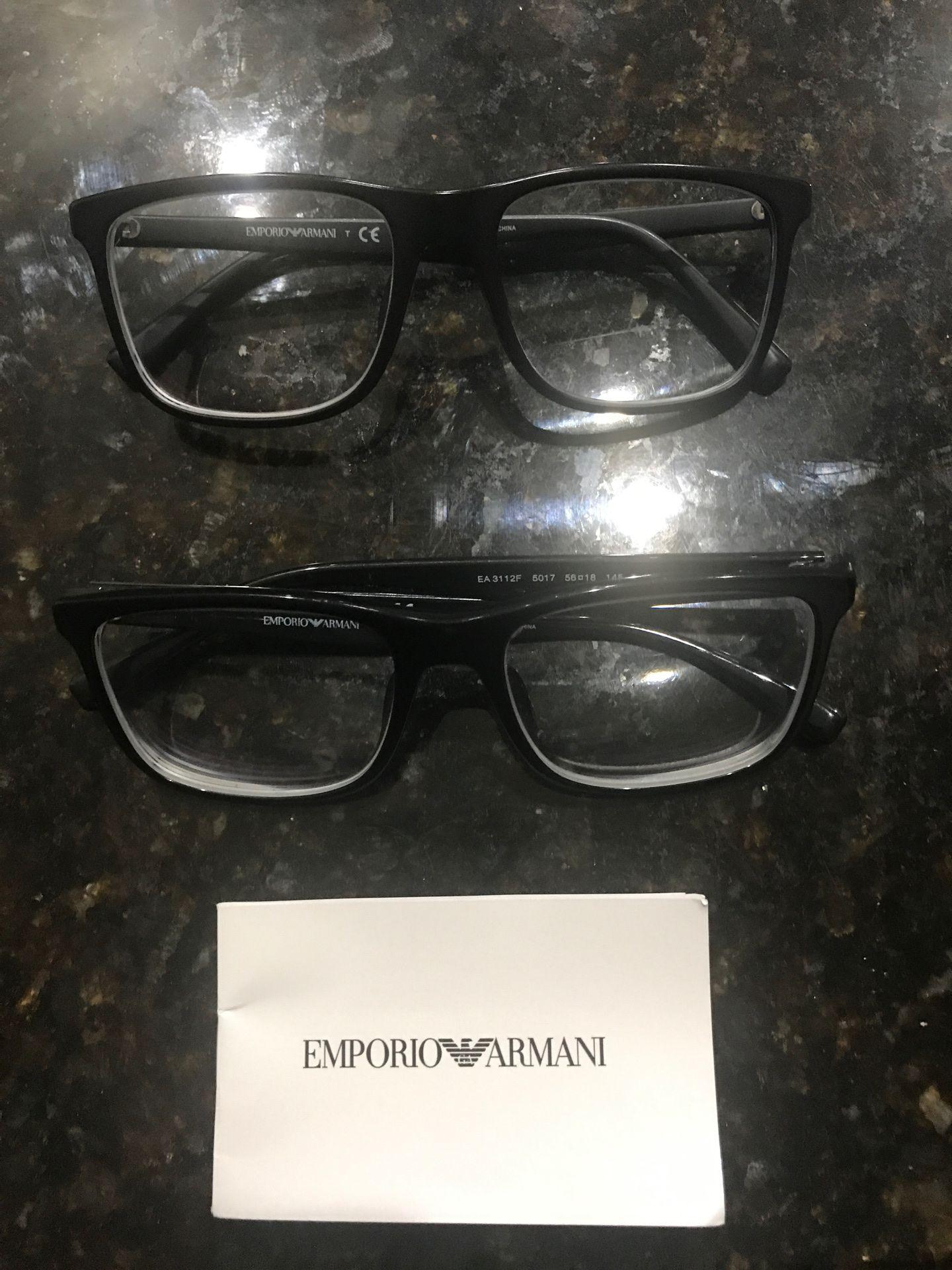 Emporio Armani Frames Original Both for