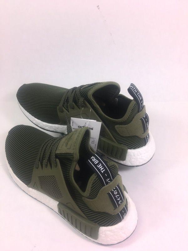 Adidas Original NMD XR1 Prime Knit Olive Green 10.5 Men Us. South El Monte  ... 176d7761f