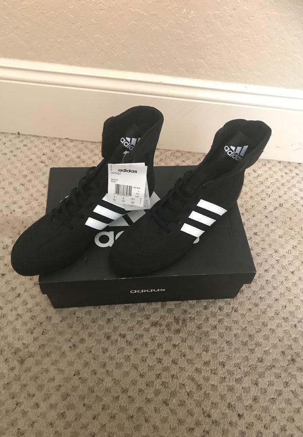 san francisco 66ea4 5101a Adidas Unisex Box Hog 2 boxing shoes