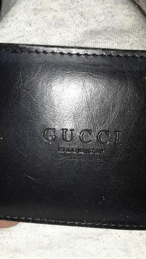 Nice men's black leather wallet for Sale in Denver, CO