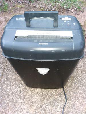 Paper Shredder for Sale in Lynchburg, VA