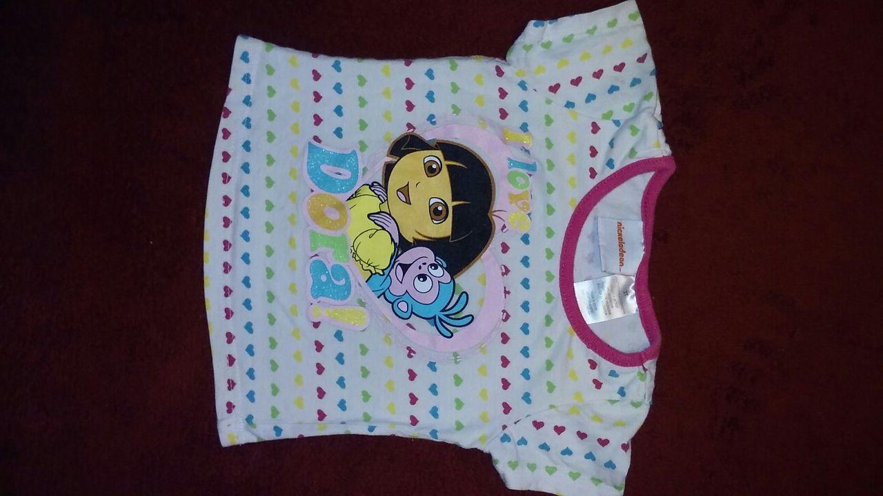 3 t Dora t-shirt by Nickelodeon