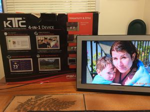 Picture frame and pc monitor 15.6inch for Sale in Potomac, MD