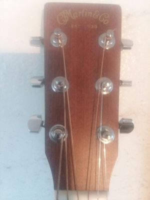 Martin X series MIM electric acoustic cutaway with fishman electronics and factory hardcase guitar it's flawless guitar sound amazing for Sale in Phoenix, AZ