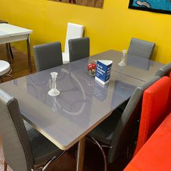 Dining Room Table With Chairs New Design ✅📦 Thumbnail