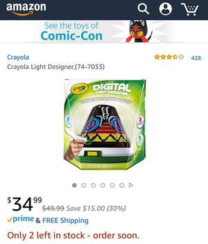 Crayola Digital Light Designer For Sale In Vancouver Wa Offerup