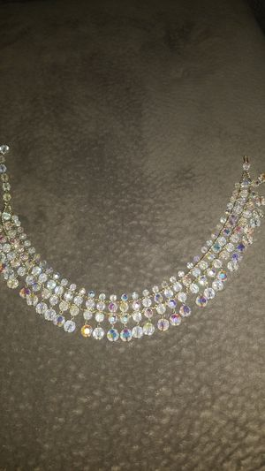 Old crystal necklace for Sale in Orlando, FL