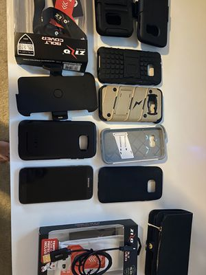 Photo Galaxy s7 boost mobile like new with extras
