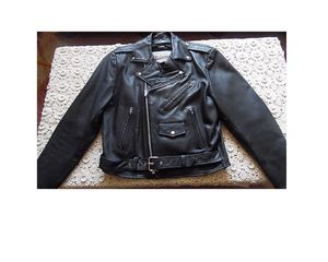 Leather Motorcycle Jacket- heavy duty- Wilson's Open Road for Sale in Los Angeles, CA