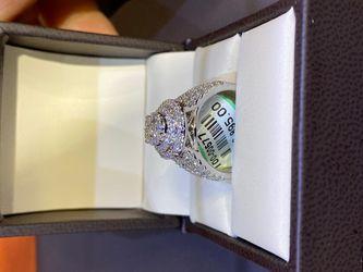 Ladies Diamond Engagement ring Thumbnail