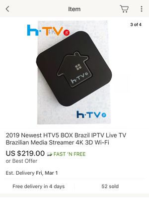 HTV5 BOX TV TELEVISION for Sale in Los Angeles, CA - OfferUp
