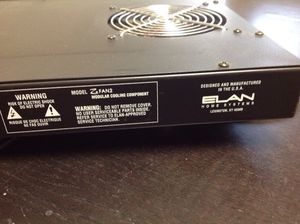 ELAN Home Systems Audio Equipment Stereo Cooling Fan Z FAN2 for Sale in Irvine, CA