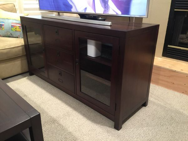 Pottery Barn Media Center Or Tv Stand Rhys Collection For