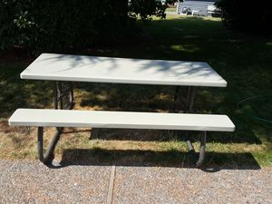Foldable picnic table for Sale in Federal Way, WA