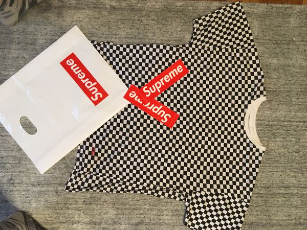 Supreme Hanes Checkered Shirt