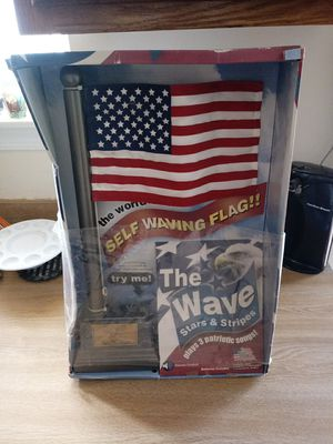 The wave self waving flag for Sale in Silver Spring, MD