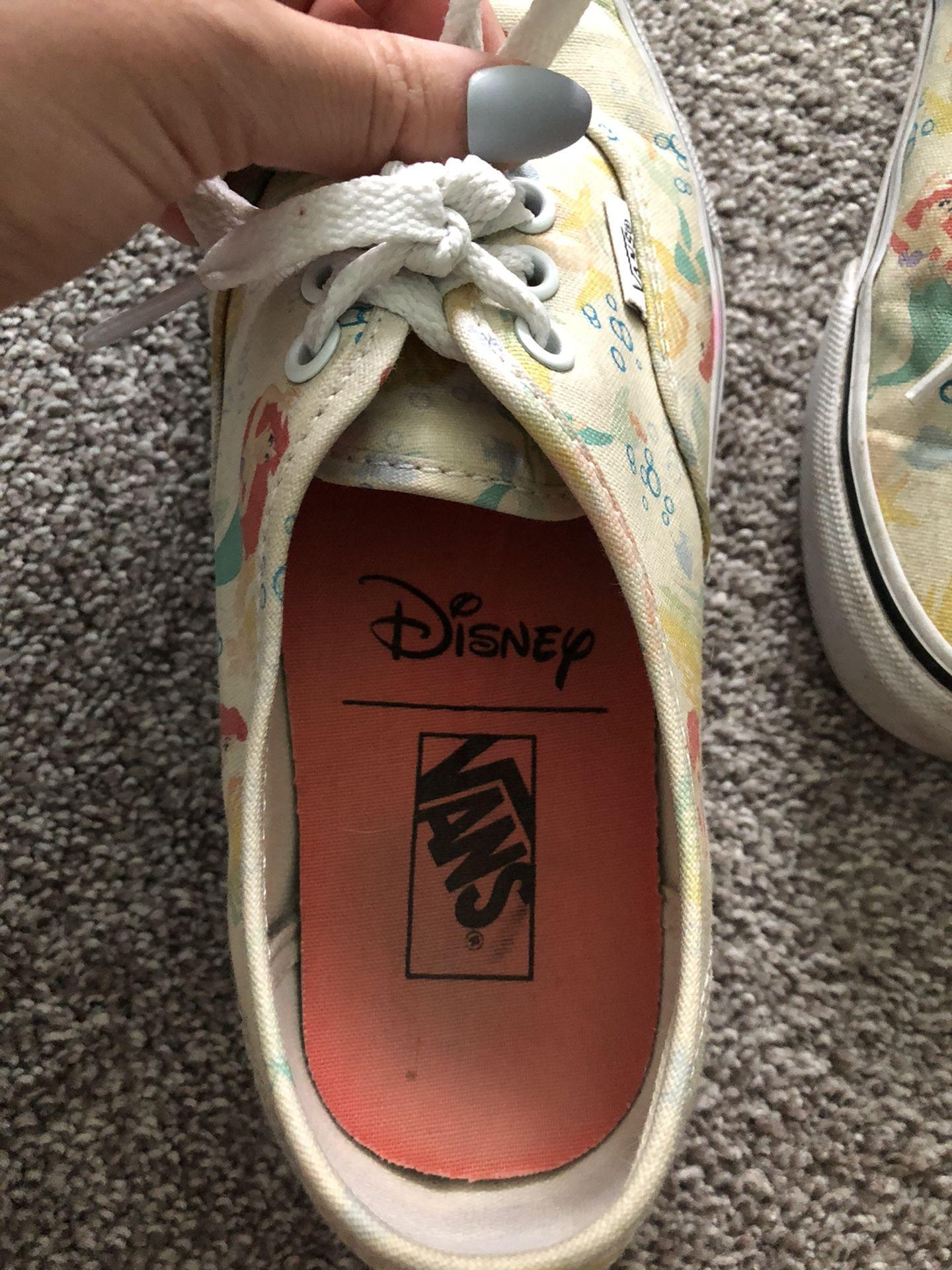 Disney Little Mermaid Vans