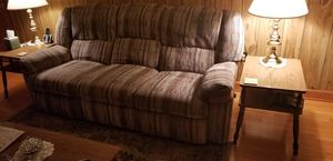Sofa, recliner, coffee table, 2 end tables for Sale in Staunton, VA