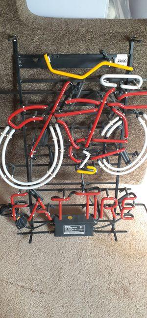 Photo Fat tire neon sign