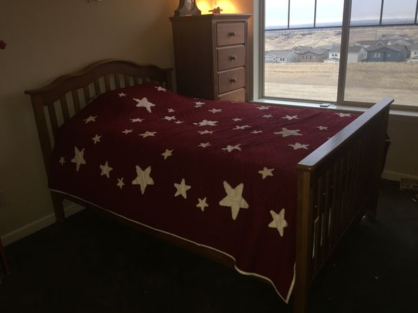 full size bed for sale in windsor co offerup. Black Bedroom Furniture Sets. Home Design Ideas