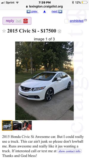 New and Used Honda for Sale in Lexington, KY - OfferUp
