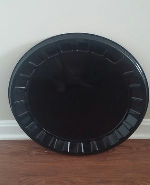 """Onyx Round Plastic Platters/18""""/Total Of Three for Sale in Gaithersburg, MD"""