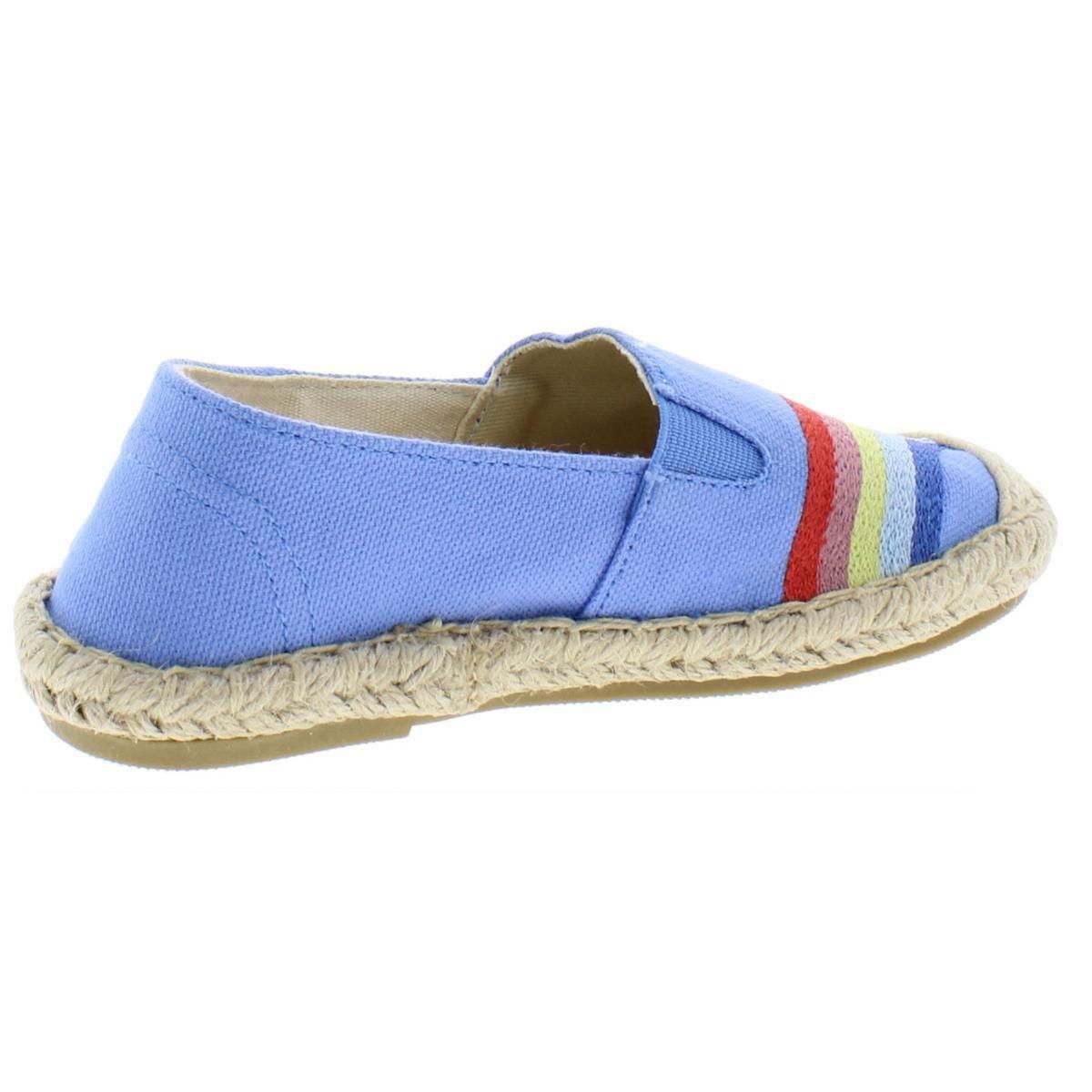 Joules Girls Espadrilles Blue Size 2 Medium (B,M) Little Kid