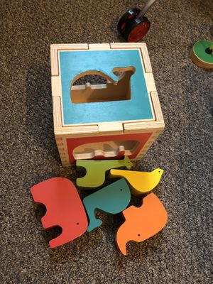 Animal shape sorter learning toys for babies for Sale in Riverdale Park, MD