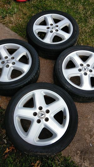 """01 Acura TL Type-S 17"""" wheels for Sale in Poolesville, MD"""