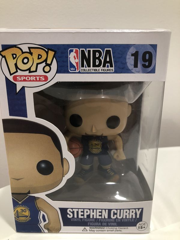 BASKET Stephen Curry Figura in vinile #43 NBA Golden State Warriors FUNKO POP