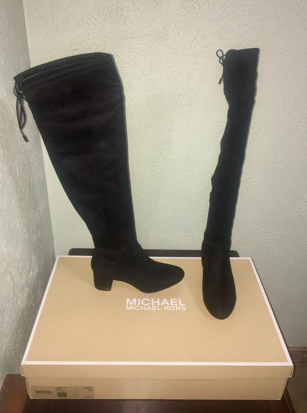 5f6af404af0 New  Michael Kors Jamie Mid Boots Size 7.5M 38 for Sale in Irving ...