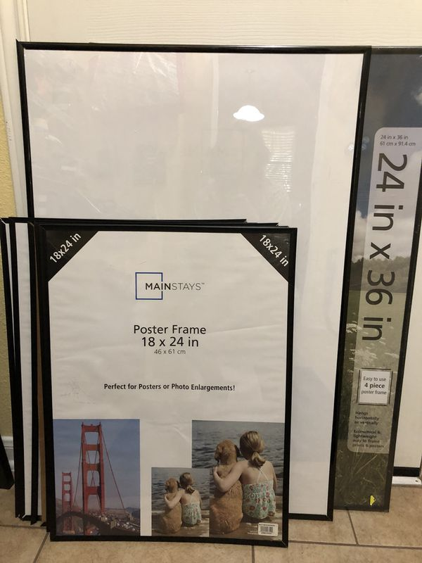 Two 24x36 Five 18x24 Poster Frames For Sale In Georgetown Tx