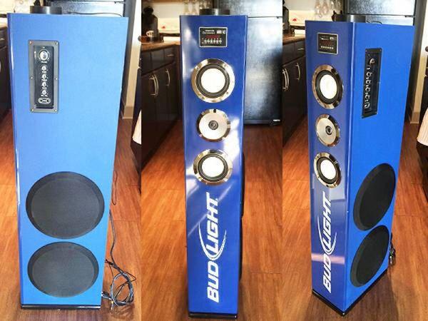 Bud Light Speaker Tower Ipod Dock For Sale In Euless Tx