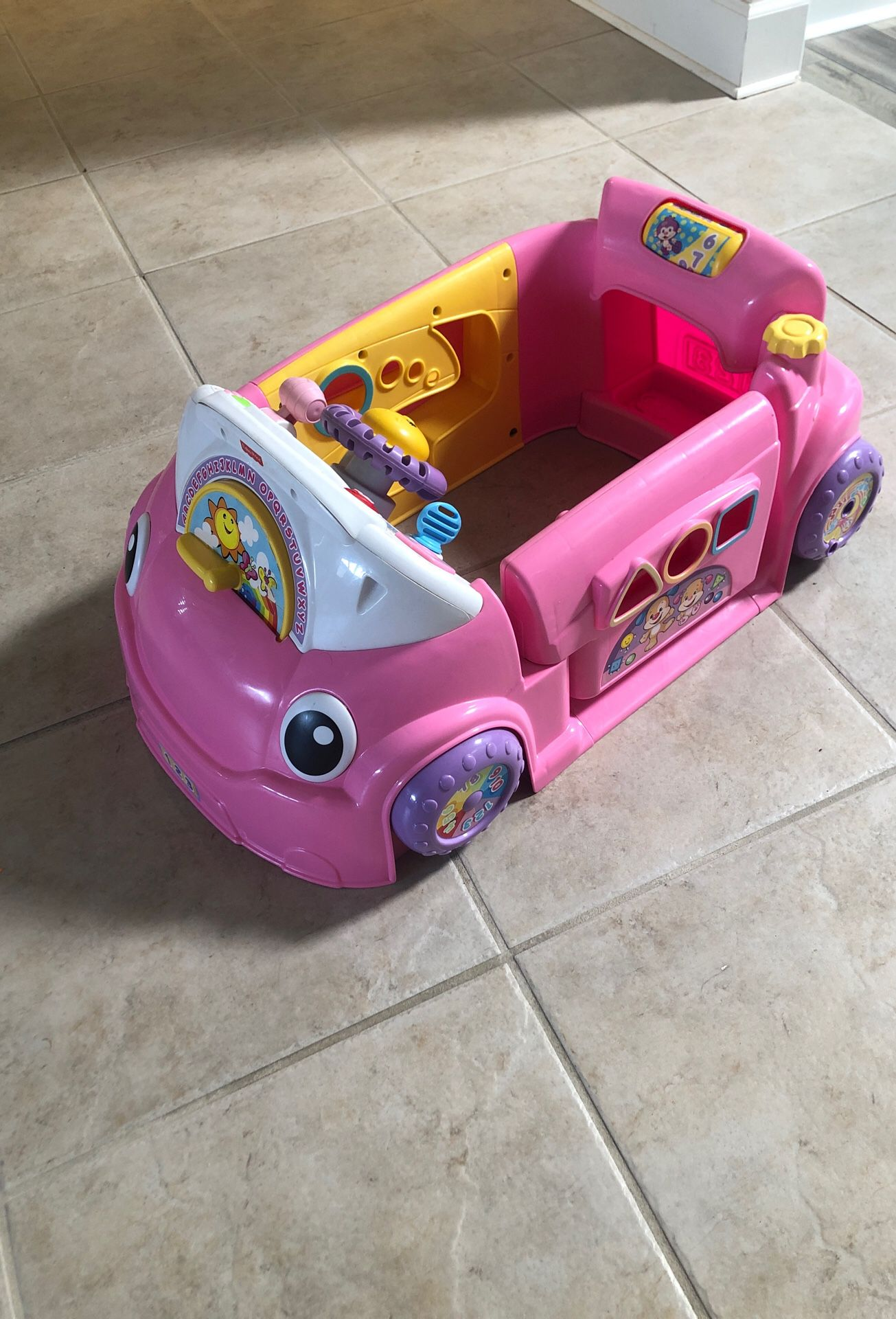 Infant to toddler toy car