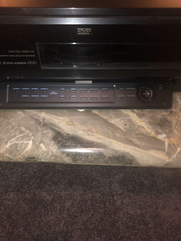 Sony 200 Disc CD DVD Player Electronics In Omaha NE
