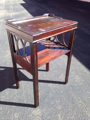 Antique (1927) Telephone Table / Nightstand for Sale in Raleigh, NC