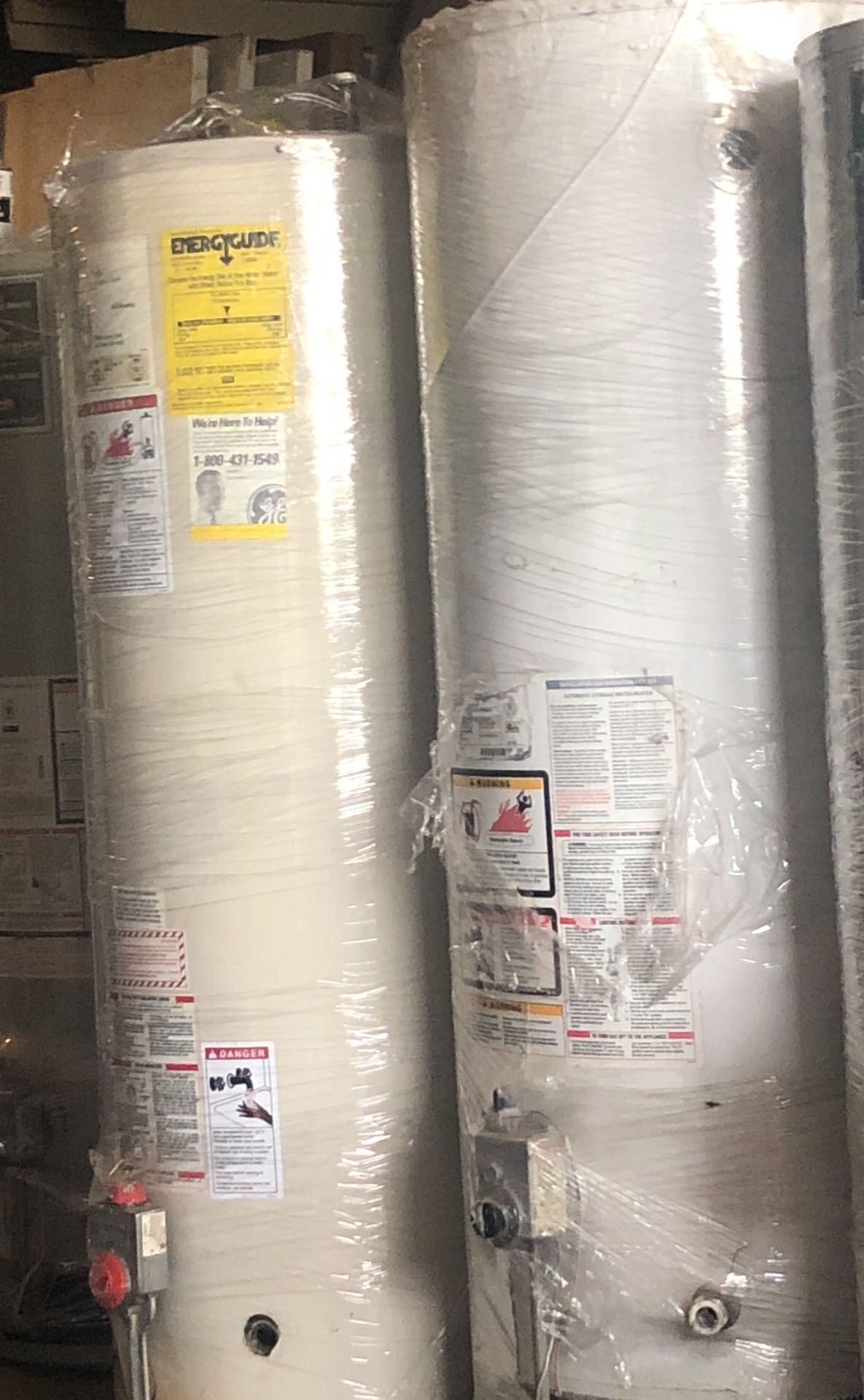 Water heaters and wall heaters sales new and used boilers