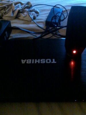 Toshiba laptop and speaker with latest windows and new hardrive and motherboar for Sale in Alexandria, VA