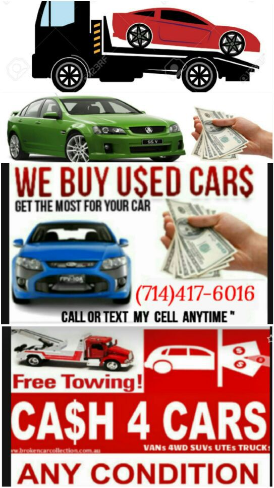cash for cars $$ good & junk cars $$ we buy cars $$ compro carros ...