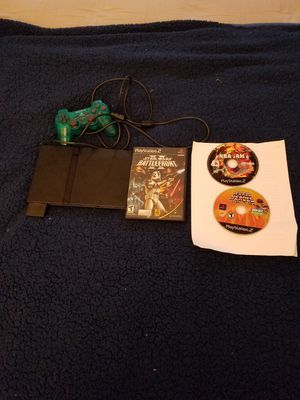 Ps2 slim with 2 controllers and 3 games for Sale in Annandale, VA