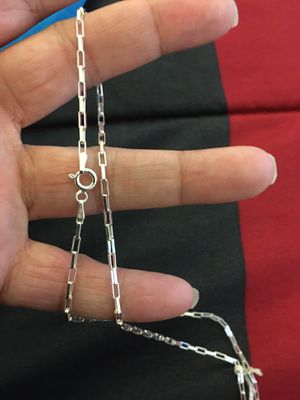 Photo Real 925 sterling silver chain necklace